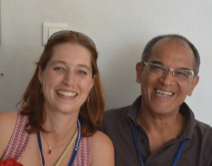 Marion Tellier and Daniel Véronique, the organisers of EuroSLA 25 (2015) in Aix-en-Provence