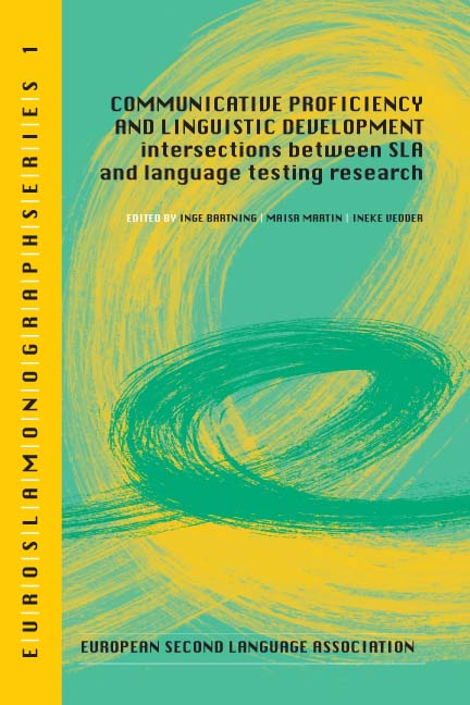 Eurosla Monographs 1 cover